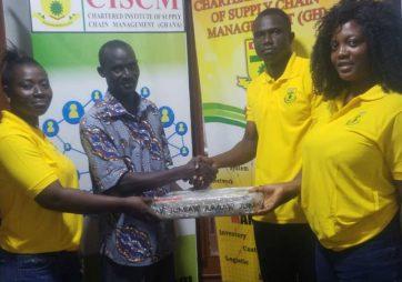 CISCM's First Gambian Graduate Donates